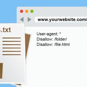 robots.txt file banner
